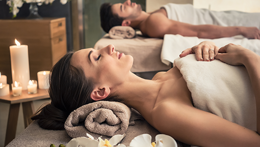 Zdjęcie zabiegu Romantyczny masaż dla dwojga – 1 ZABIEG – 60 MIN