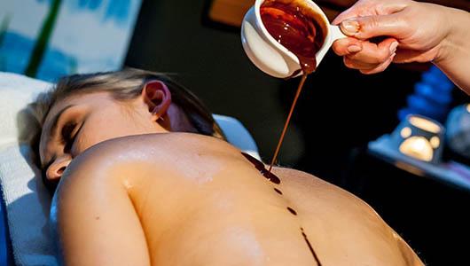 Zdjęcie zabiegu Masaż gorącą czekoladą